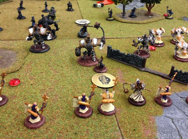 Warmachine Vengeance tournament Menoth vs Cygnar