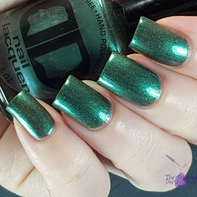 dd nail lacquer ever green
