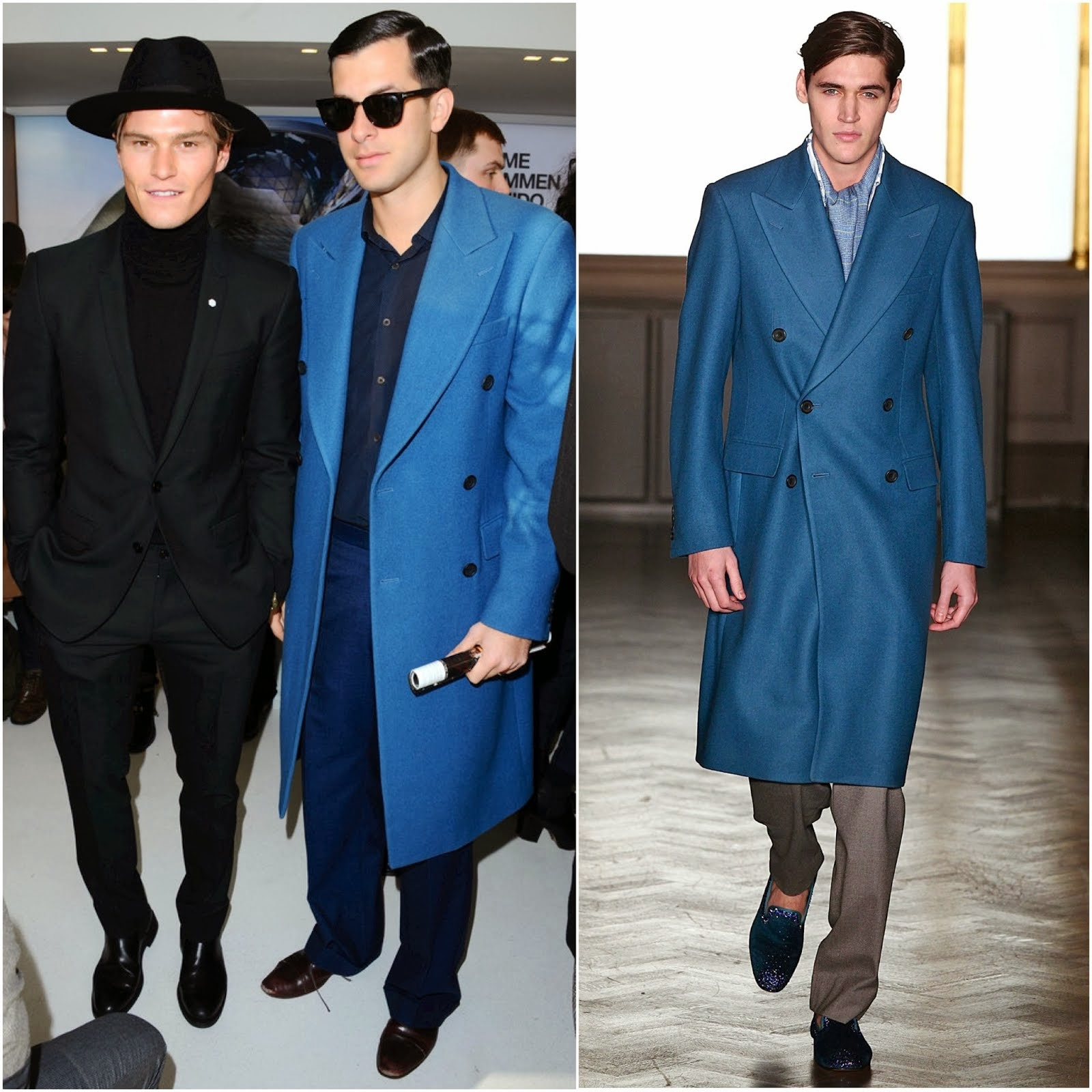 Mark Ronson in Richard James - London Collections: Men FW2014 Day 2 #LCM