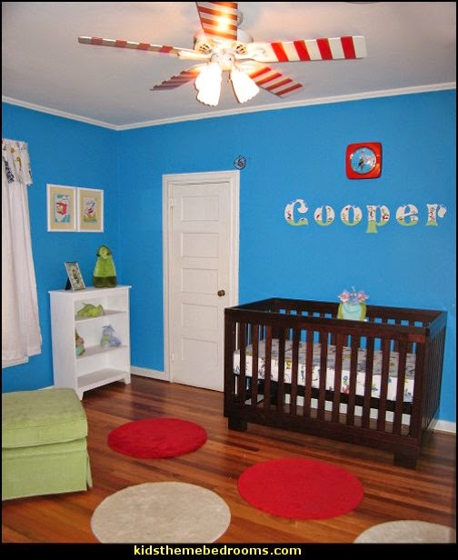Decorating theme bedrooms - Maries Manor: Dr Seuss theme bedroom ...