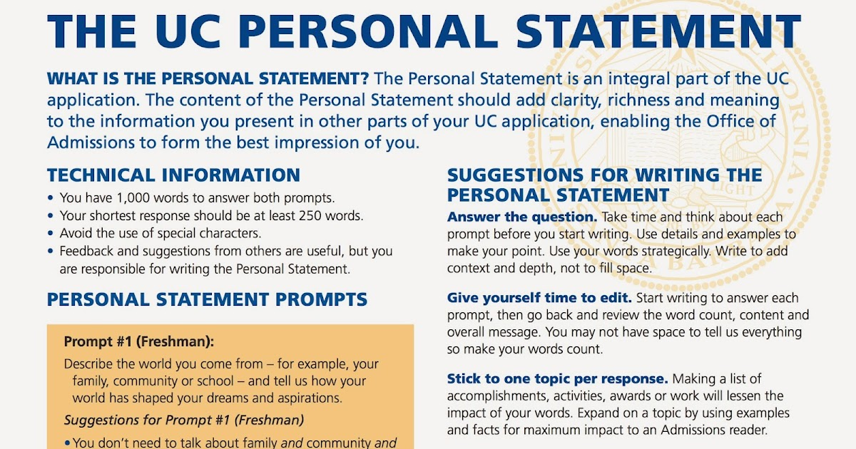 best mba personal statement