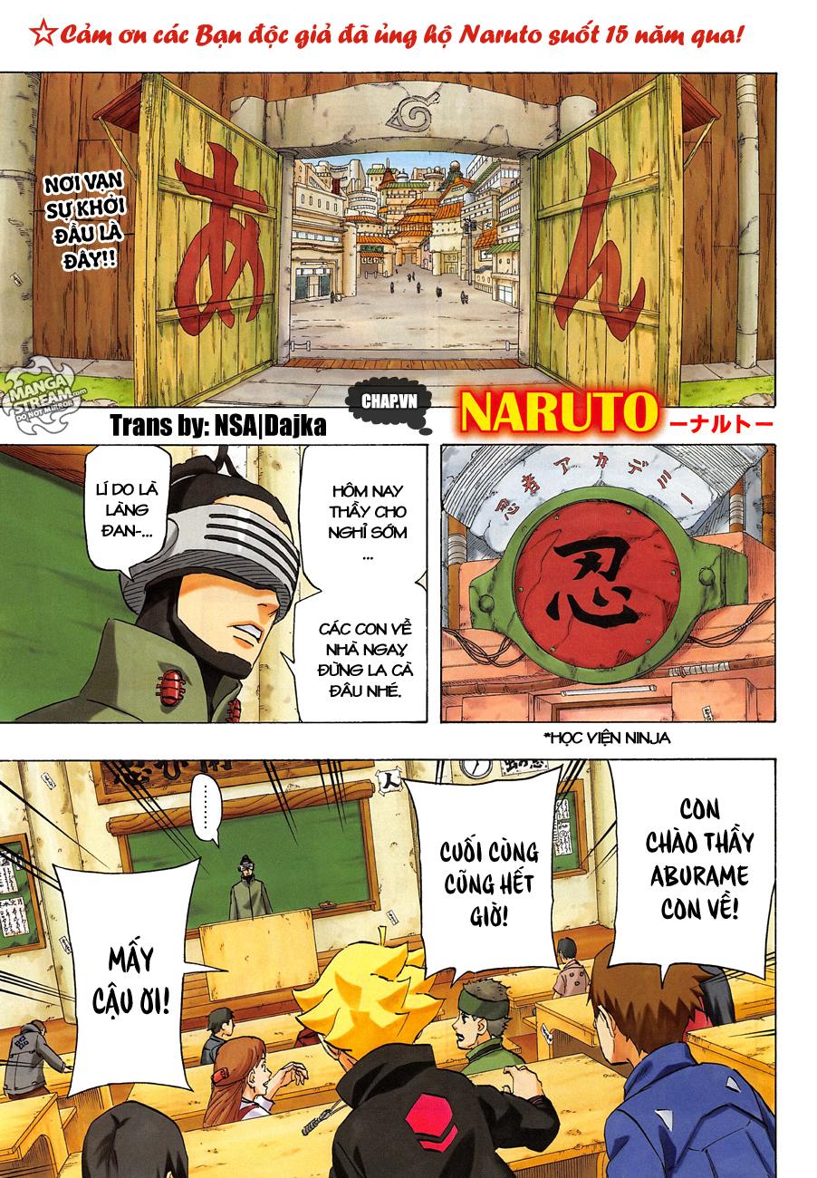 Naruto chap 700 – Chap cuối Trang 1