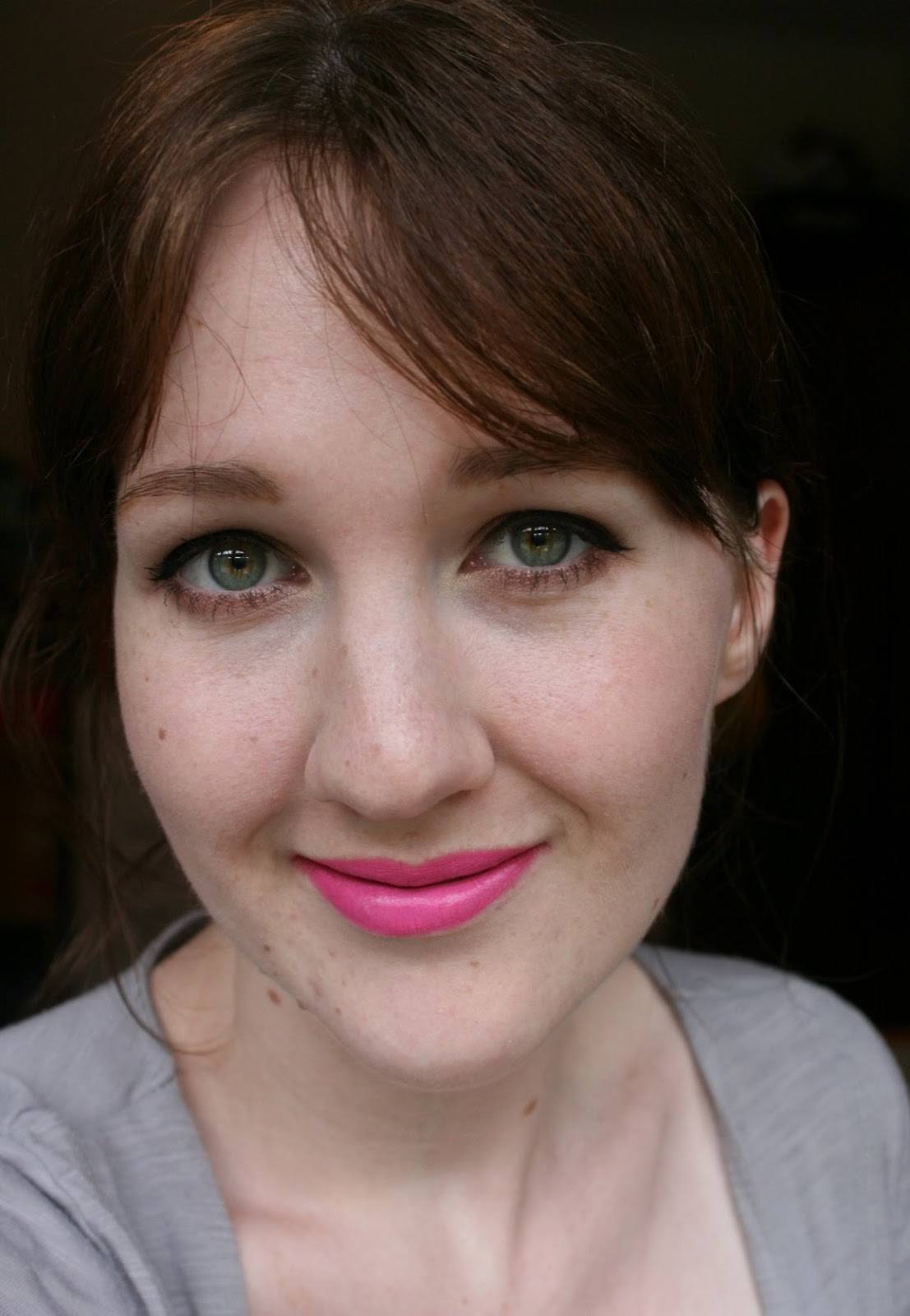 Lime Crime Countessa Fluorescent lipstick FOTD
