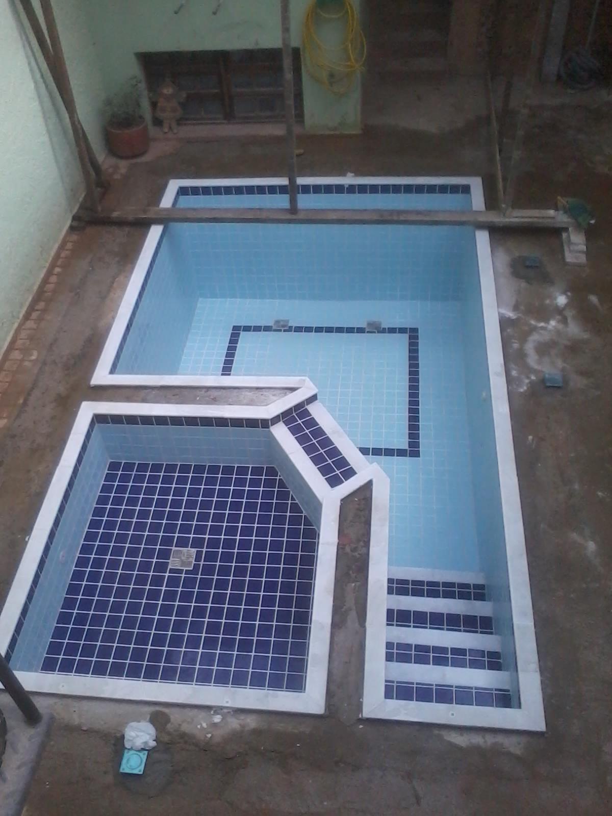 Como reformar a piscina - Azulejos para piscina ...