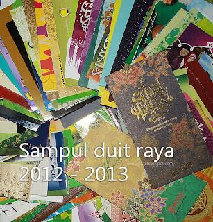 sampul duit raya tahun 2012 - 2013