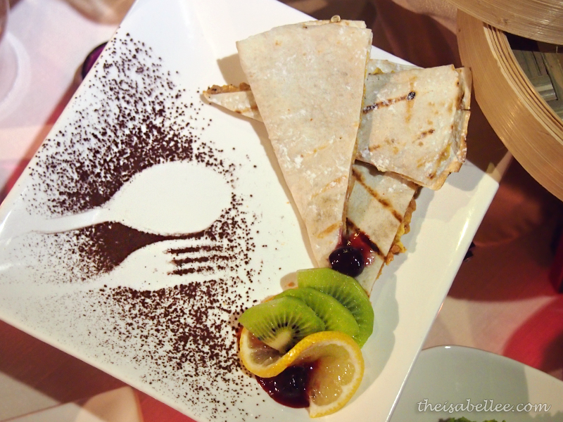 Nutty Tortilla Banana at TGV Indulge
