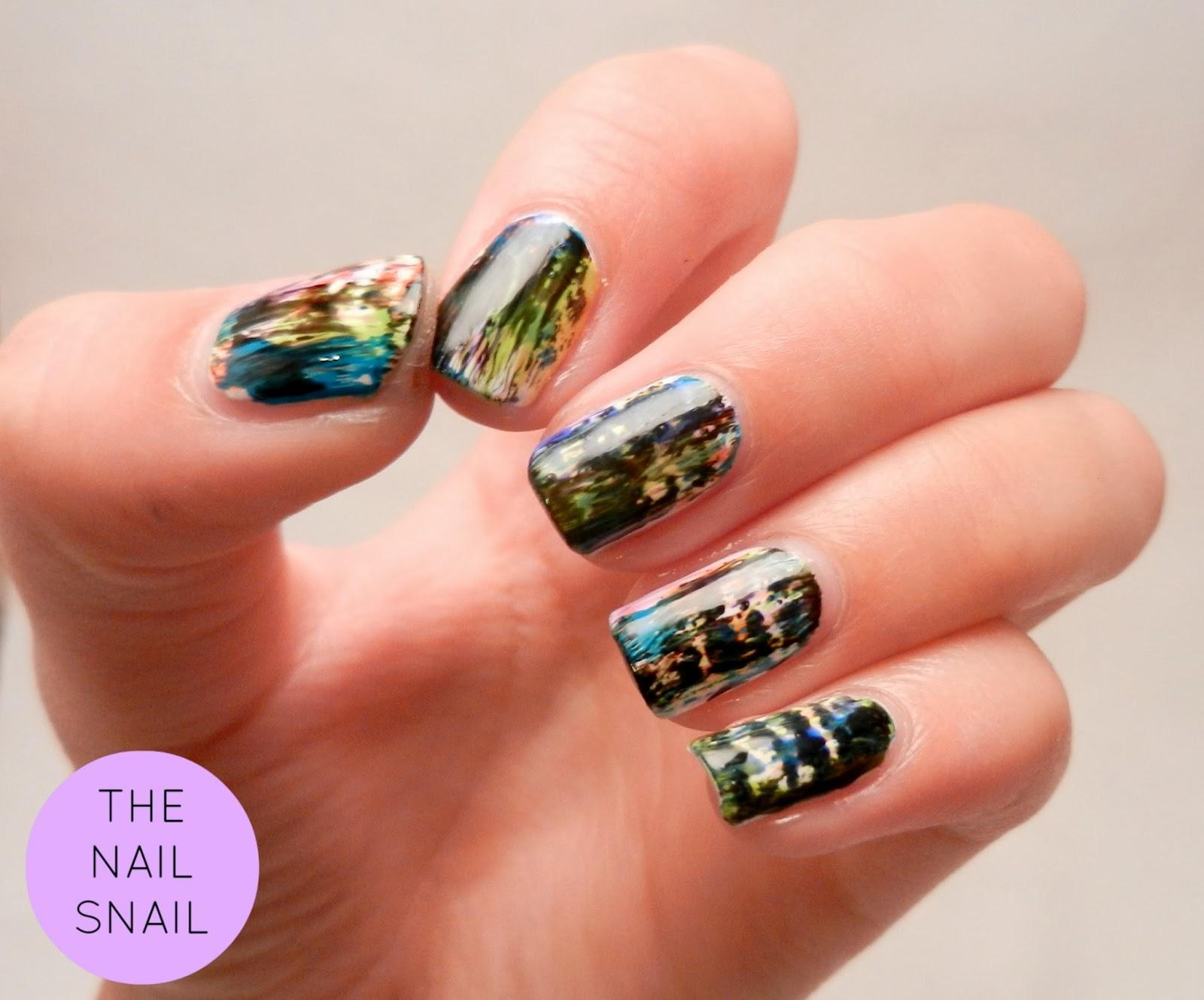 The Nail Snail Grunge Nail Fail