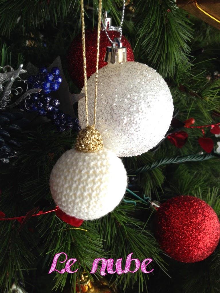 Lenube: Patrón Bola Navidad Amigurumi