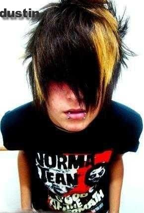emo hairstyle for guys. emo boys hairstyle.