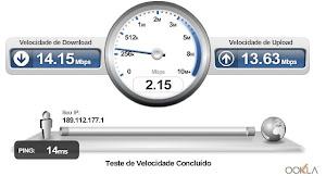 Teste a Velocidade Atual de Sua Conexão !!!