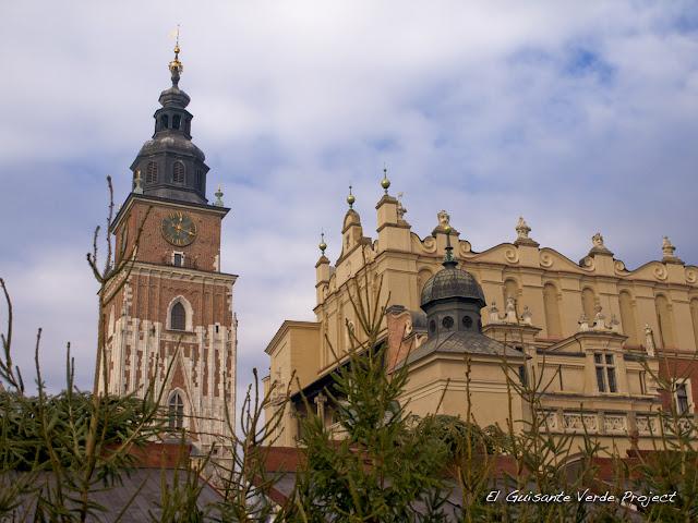 Torre del Ayuntamiento - Cracovia, por El Guisante Verde Project