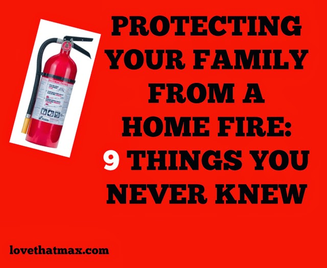 Love that max protecting your family from a home fire 9 for Fire prevention tips for home