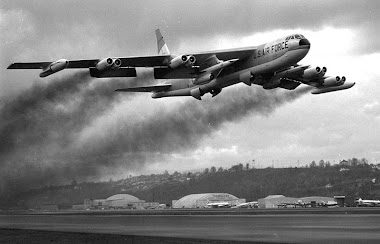 Boeing B-52 Stratofortress and AGM-28 Hound Dog AGMs