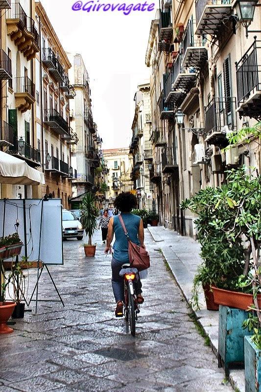 visitare palermo bicicletta