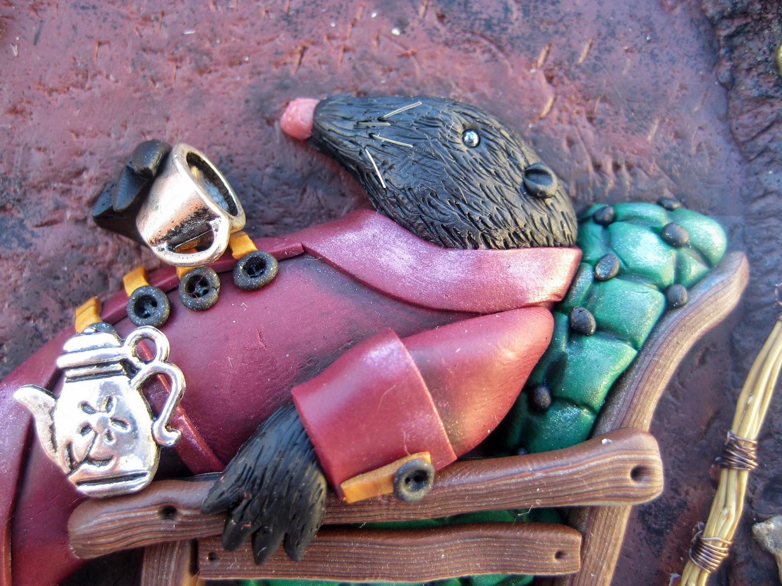 mole, thumbelina, fairytale, baśnie, calineczka, kret