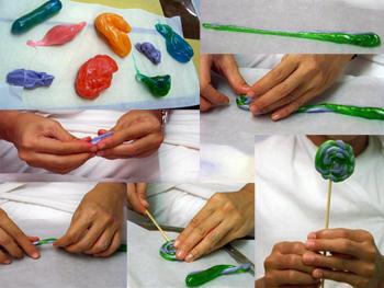Cara membuat permen lolipop