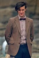 Eleventh Doctor, Matt Smith wearing a bow tie