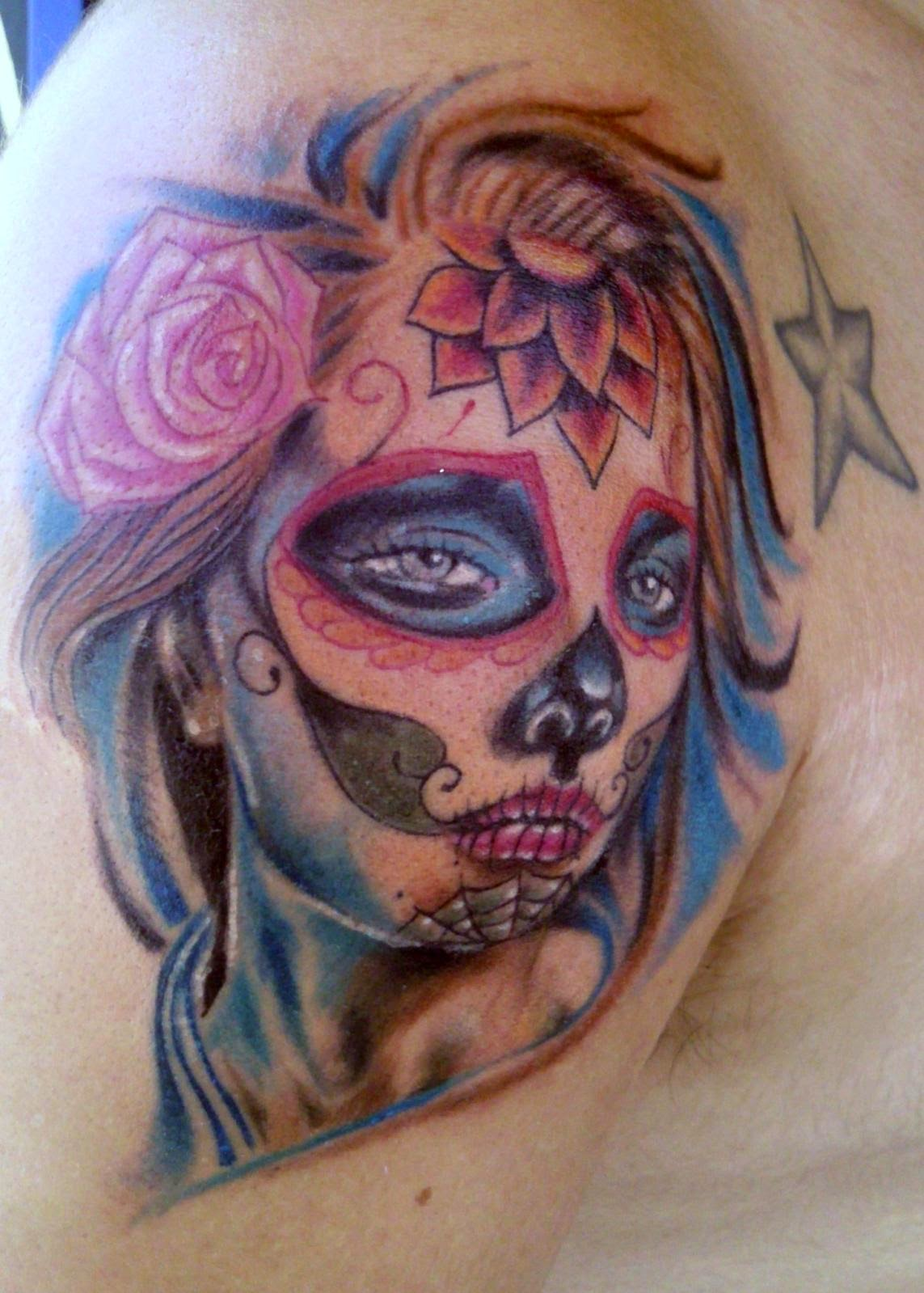 Wonderful Catrina Tattoos