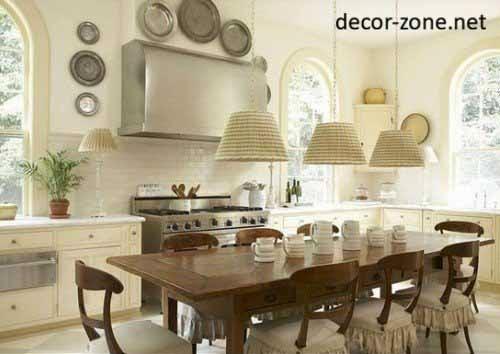 plates arrangement, kitchen decorating ideas