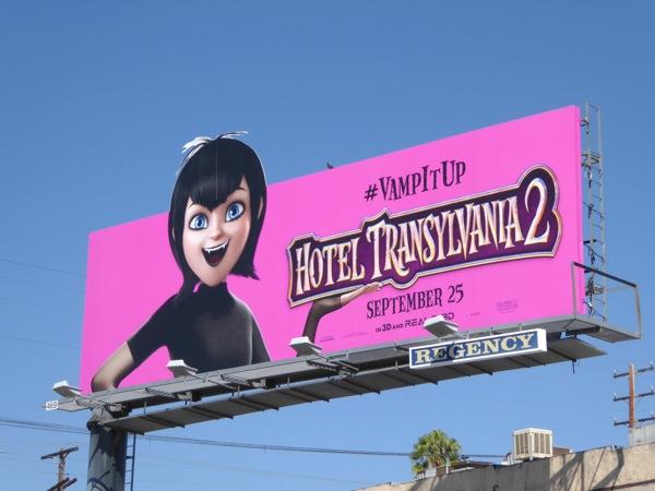 Mavis Hotel Transylvania 2 special extension billboard