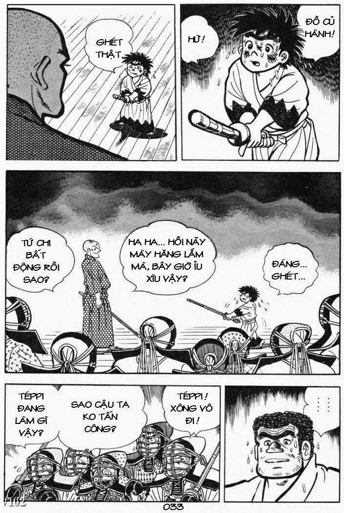 Siêu quậy Teppi chap 105 - Trang 33