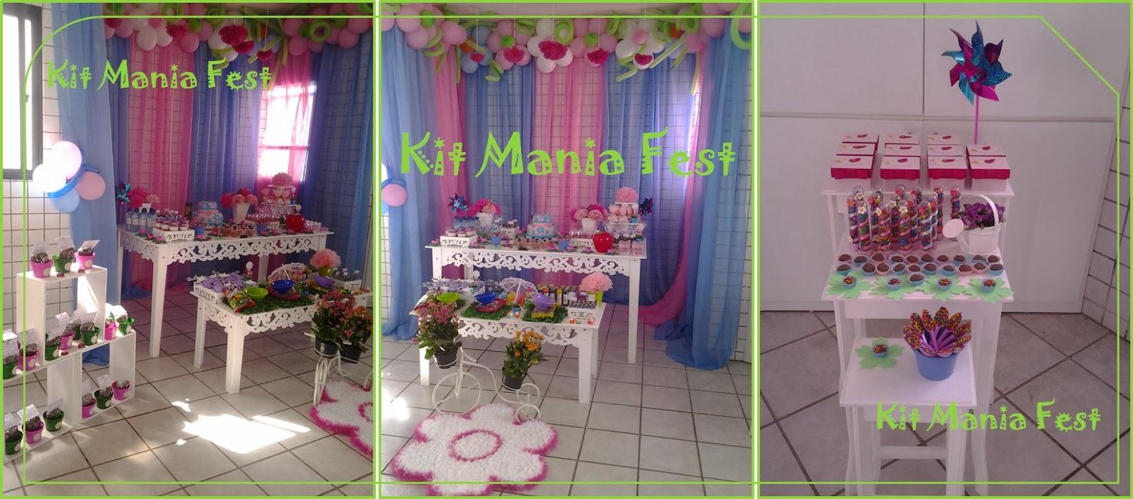 decoracao de balões jardim encantadoKit Mania Fest Decoração