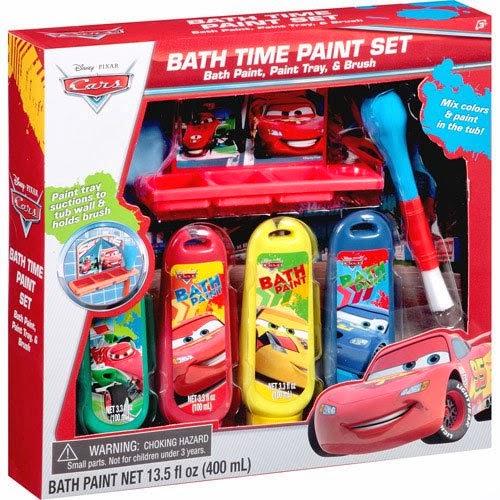 Disney cars bathroom set