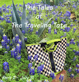 The Traveling Tote #2 - July 31