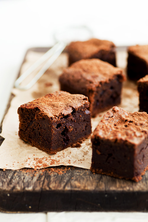 erinnish: Donna Hay's Classic Brownies