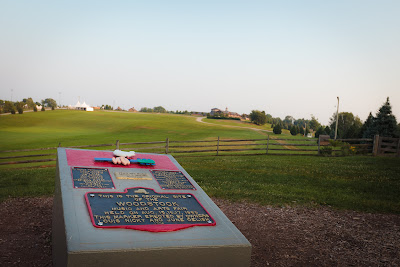 Picture of the Woodstock Monument in Bethel, NY
