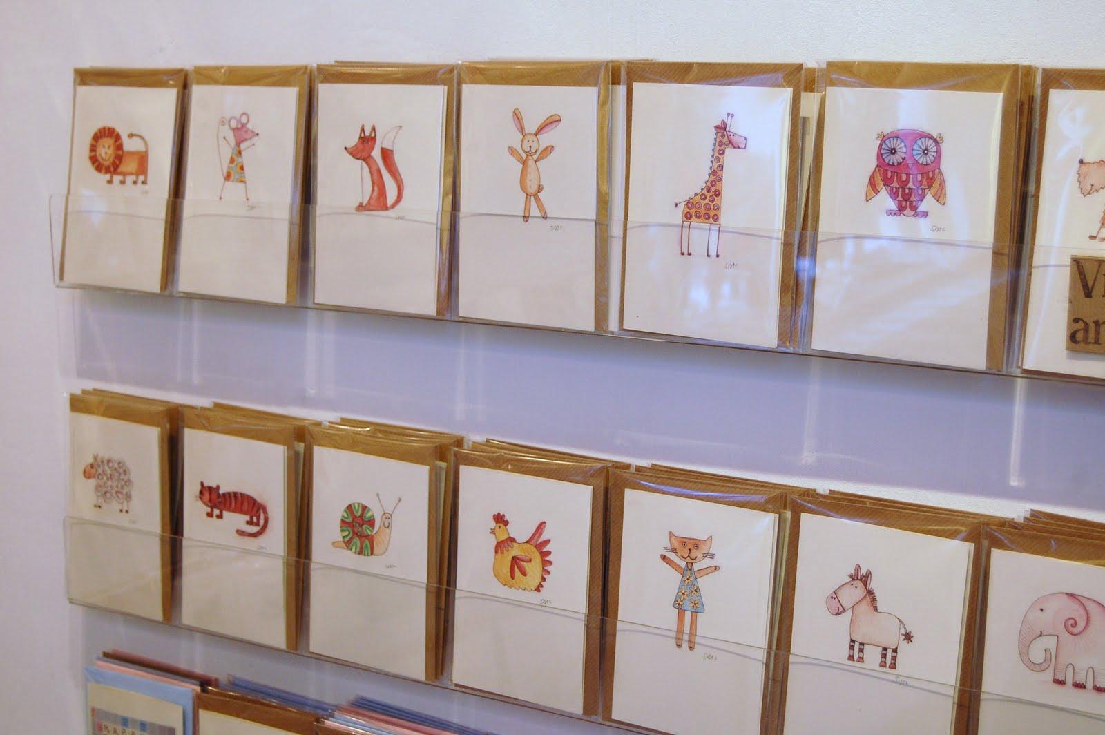 Sharon Mcswiney Greetings Card Display