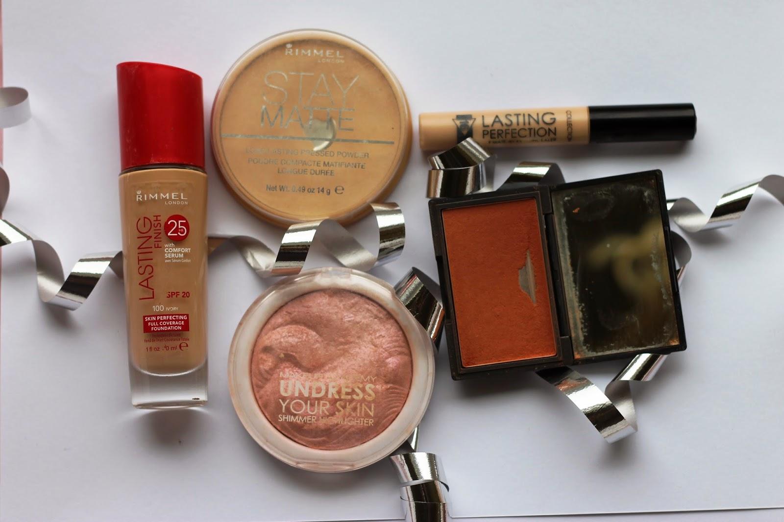 Everyday make-up Rimmel MUA Sleek