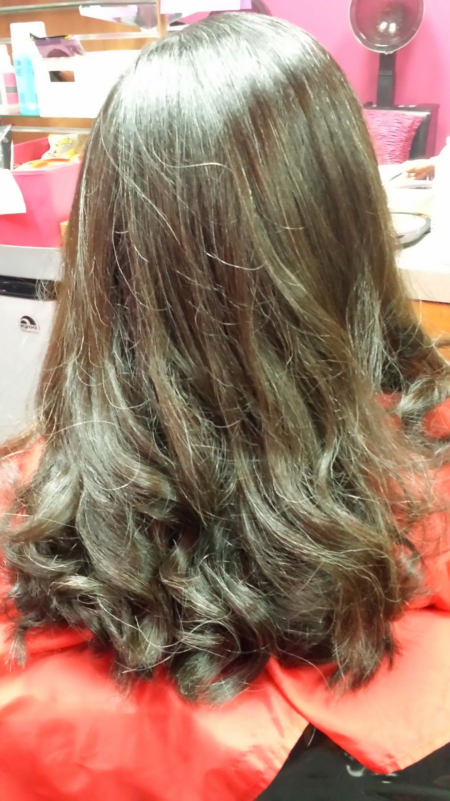 Magic straight perm vs keratin - Silk Press After
