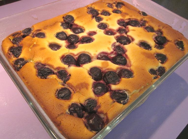 cheesecake aux cerises sans gluten