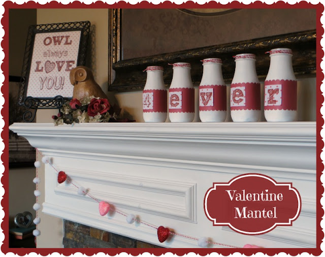 alt=&quot;Valentines Day, Owls, Hearts, Mantel&quot;