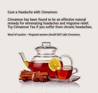 How Remove Headache with cinnamon