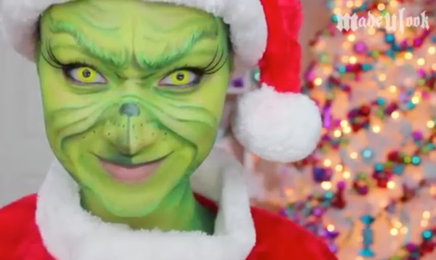 Jim Carrey Grinch Makeup | www.pixshark.com - Images ... Jim Carrey Grinch Makeup