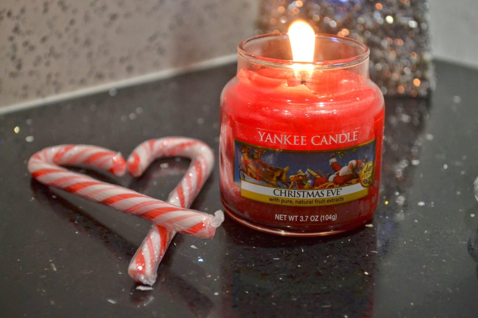 Christmas Eve Yankee Candle