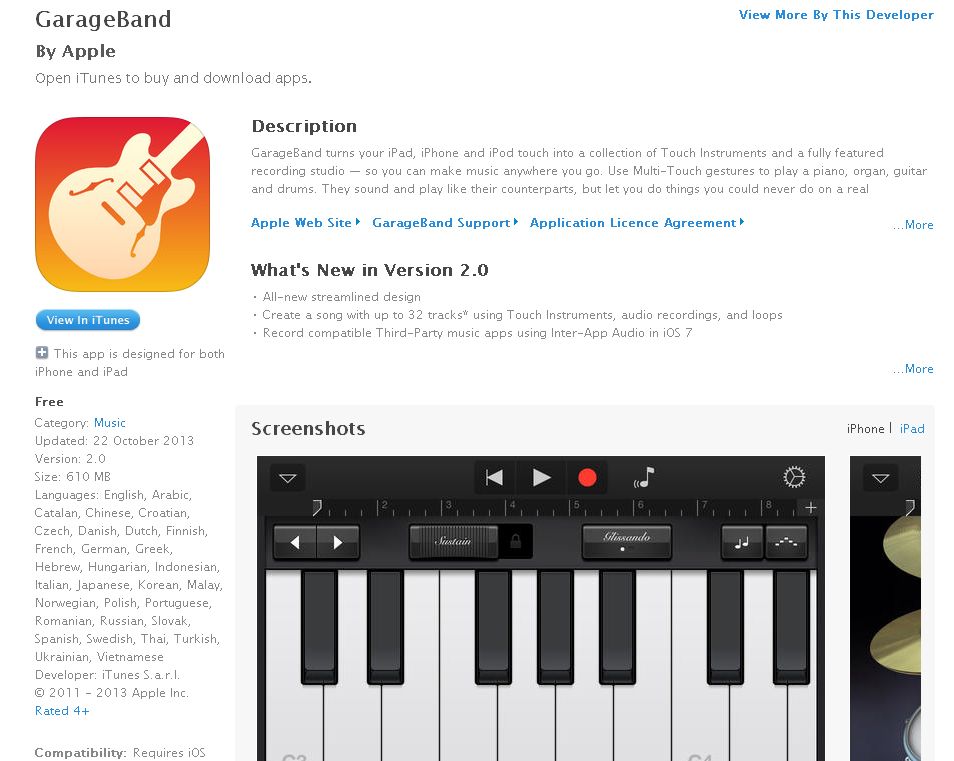 thewraith517  garageband ipad and iphone free for today only