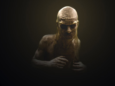 Scary Old Man Wallpaper