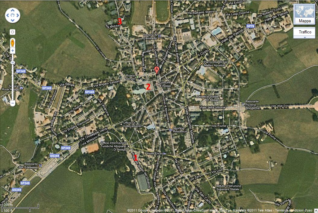 Asiago google maps