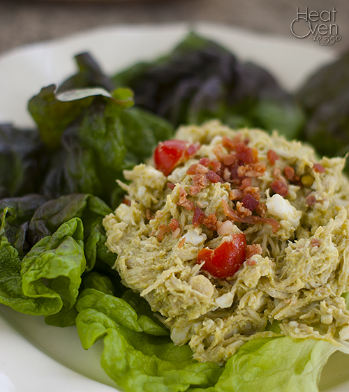 Cobb Chicken Salad ~ Heat Oven to 350