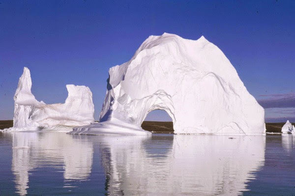 Scoresby Sund East Greenland, kenaikan permukaan air laut