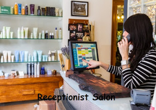receptionist salon job