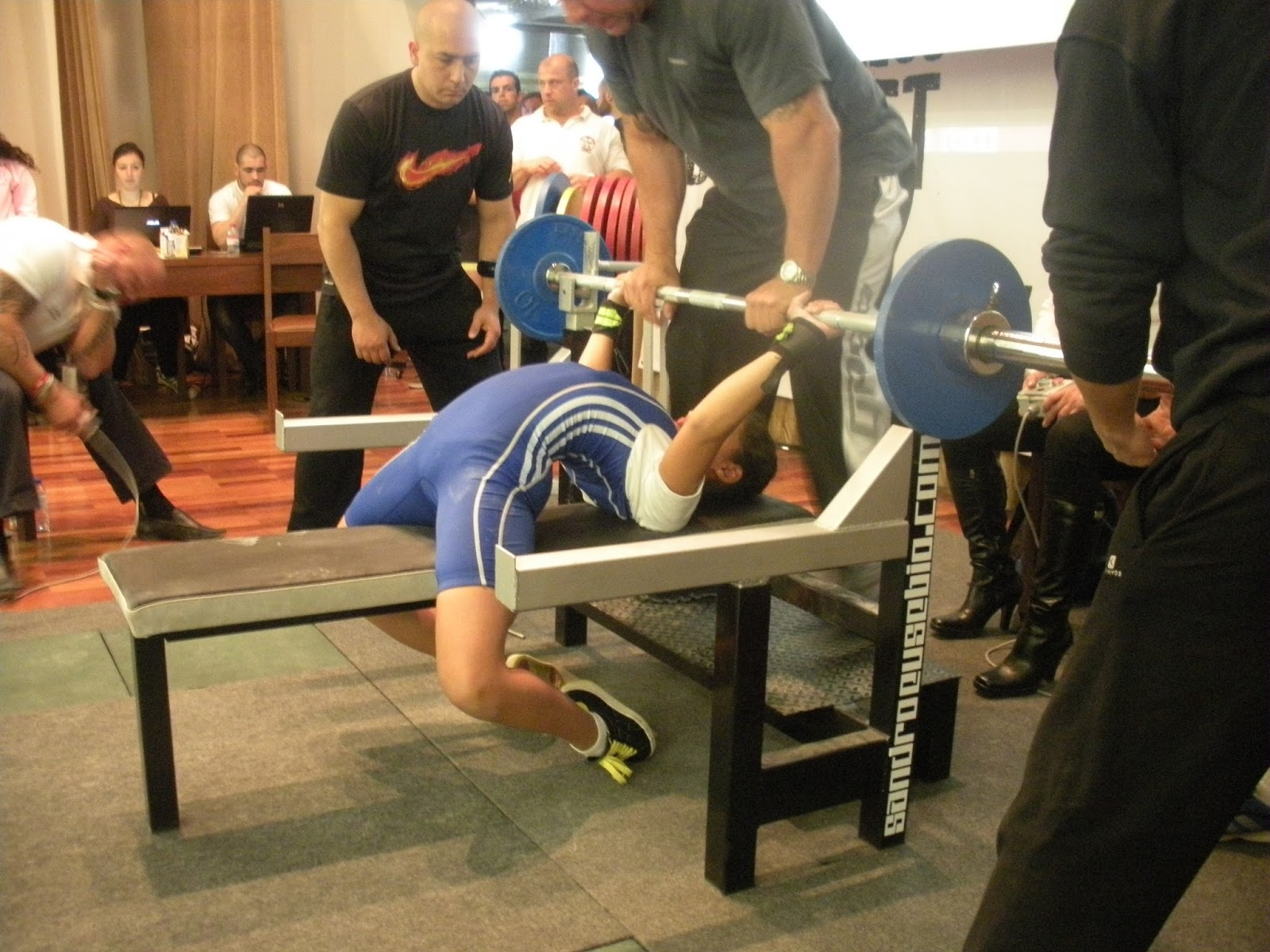 Irnmike International Powerlifter High Arch In Bench Press