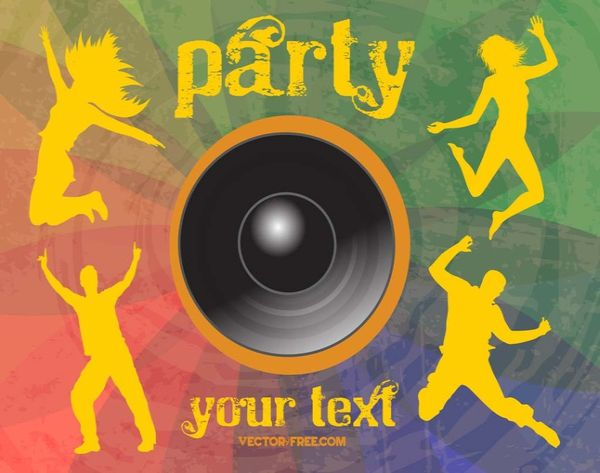 Free Cool Party Vector Graphics