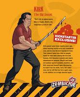 Kirk Zombicide kickstarter zombivore survivor