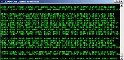 Membuat tampilan Matrix dengan CMD
