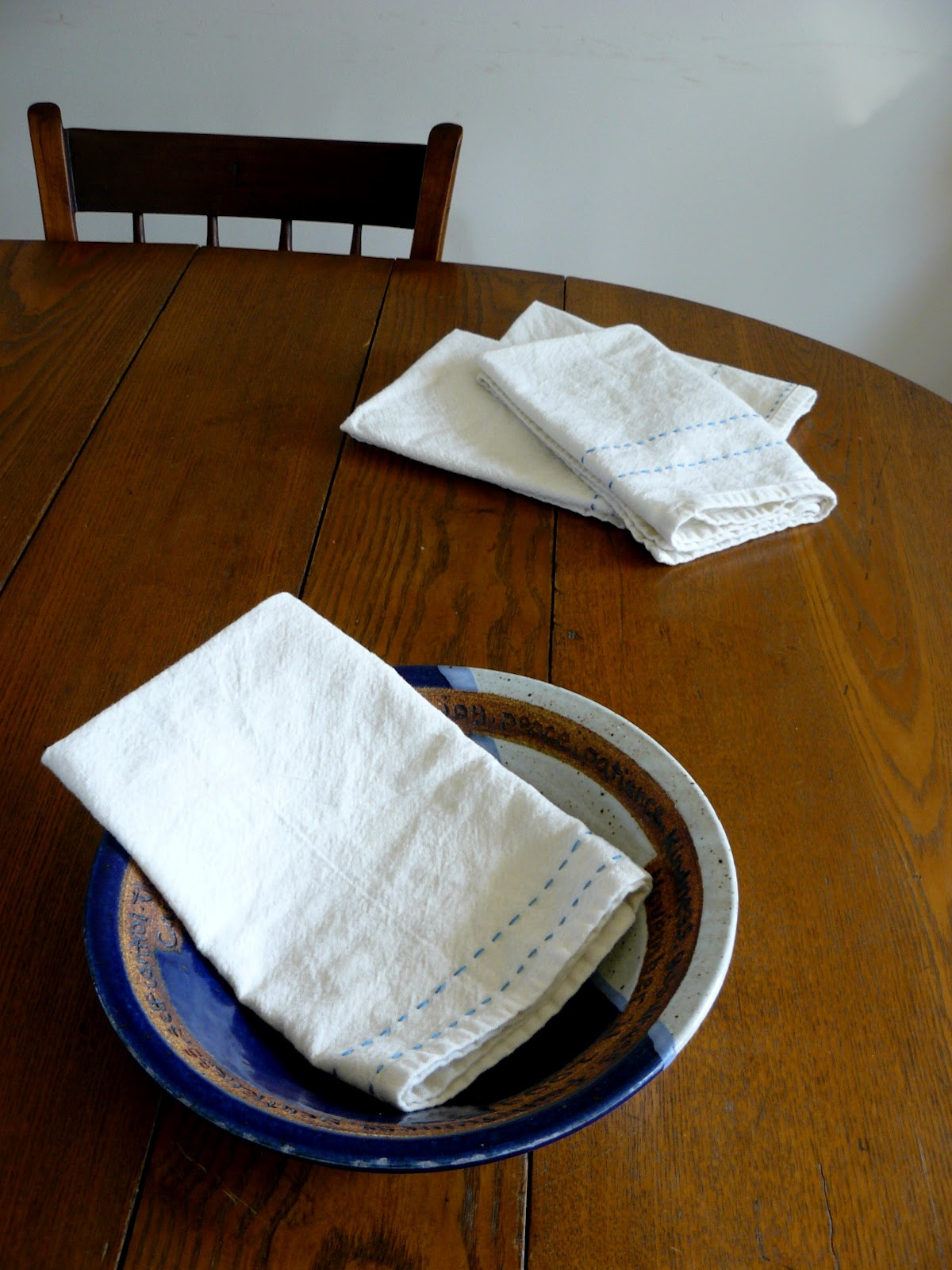 The woven home sewing projects cloth napkins for Household sewing projects