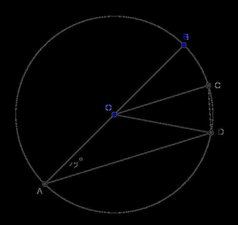 soal osk matematika sma 2012 circle